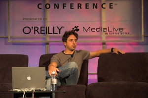 Sergey Brin by Flickr user Ptufts (http://www.flickr.com/photos/zippy/) Some Rights Reserved.